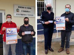 Ganhadores Nota Fiscal Gaúcha de Estação retiram prêmios!