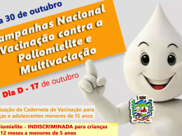 A Secretaria da Saúde de Estação – Campanha Nacional de Multivacinação de 05 a 30 de outubro