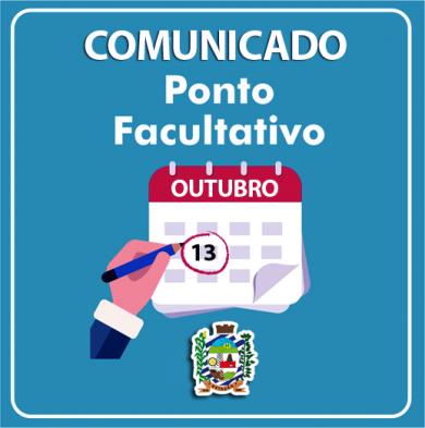 COMUNICADO PONTO FACULTATIVO 13/10