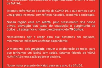 ATENÇÃO!!!  Alerta Máximo R16 – NOSSA REGIÃO