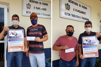 👏👏 Ganhadores da Nota Fiscal Gaúcha de Novembro retiram prêmios!