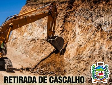 RETIRADA DE CASCALHO