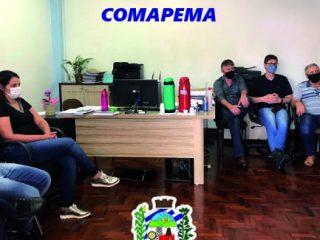 Reunião com os membros do COMAPEMA – Conselho Municipal de Agricultura