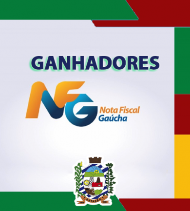 GANHADORES NOTA FISCAL GAÚCHA – SORTEIO DE ABRIL