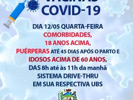 IMUNIZAÇÃO COVID-19 QUARTA DIA 12