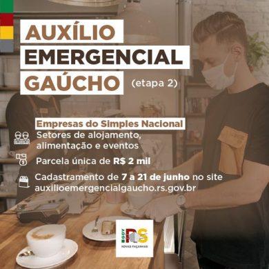 INFORMAÇÃO SOBRE AUXÍLIO EMERGENCIAL GAÚCHO