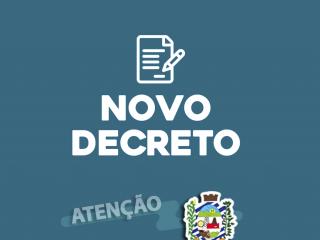 NOVO DECRETO MUNICIPAL – MEDIDAS EXTRAORDINÁRIAS PREVENÇÃO COVID-19