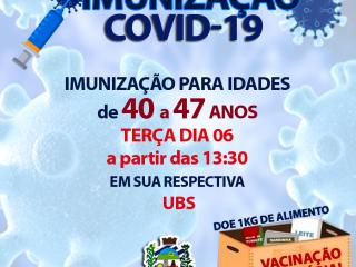 IMUNIZAÇÃO CONTRA COVID-19