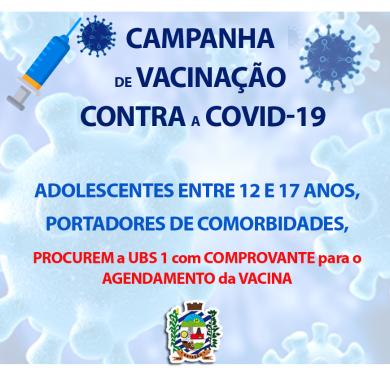 INFORME TÉCNICO nº 10/2021 VACINAÇÃO CONTRA A COVID-19 para 12 a 17 anos