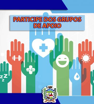 PARTICIPE DOS GRUPOS DE APOIO