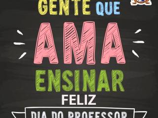 PARABÉNS e GRATIDÃO PROFESSORES!