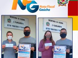 GANHADORAS NOTA FISCAL GAÚCHA RETIRAM PRÊMIO